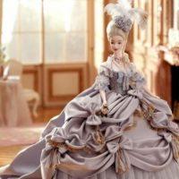 La Barbie de la reina María Antonieta. Foto:Mattel