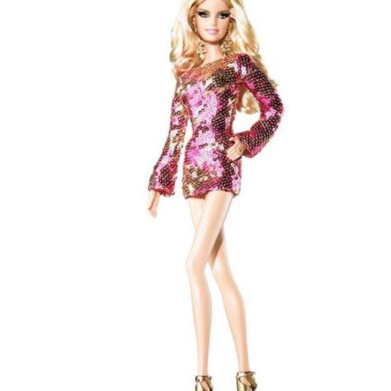 La Barbie de Heidi Klum, la modelo. Foto:Mattel