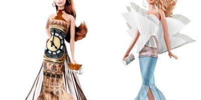 Las Barbies inspiradas en monumentos internacionales. Foto:Mattel