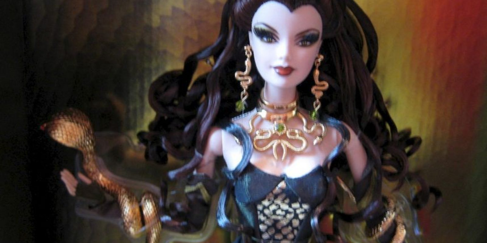 La Barbie Medusa. Foto:Mattel