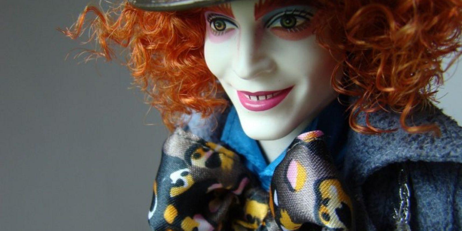 """El muñeco del Sombrerero en """"Alicia en el País de las Maravillas"""" Foto:Mattel"""
