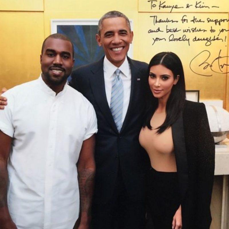 El rapero Kanye West. Foto:Vía Instagram