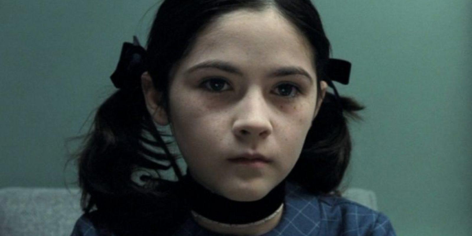 Isabelle Fuhrman interpretó a uno de los personajes más escalofriantes de la historia del cine. Foto:vía Warner