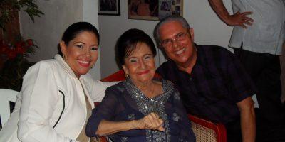 Esther Forero en familia. Foto:Teresa González