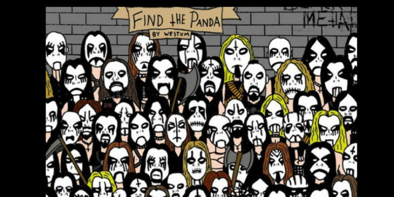 Encuentren al panda Foto:Vía Twitter