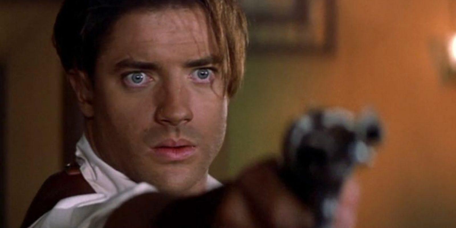"""Y lo ratificó en """"La Momia"""". Y luego de eso, Fraser no tuvo casi papeles de mayor recordación. Foto:vía Universal"""