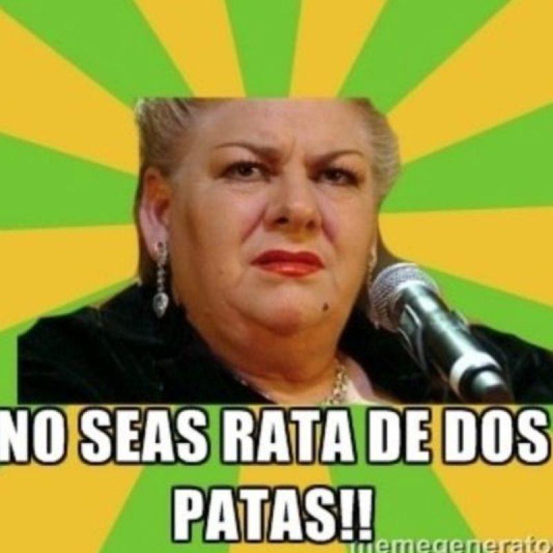 Así Paquita la del Barrio ha ganado fama en Internet. Foto:Vía Twitter
