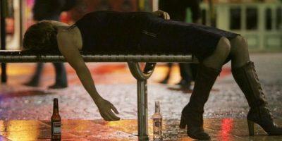 6. Eviten salir a la calle si se encuentra en estado de embriaguez, sus reflejos disminuyen Foto:Getty Images