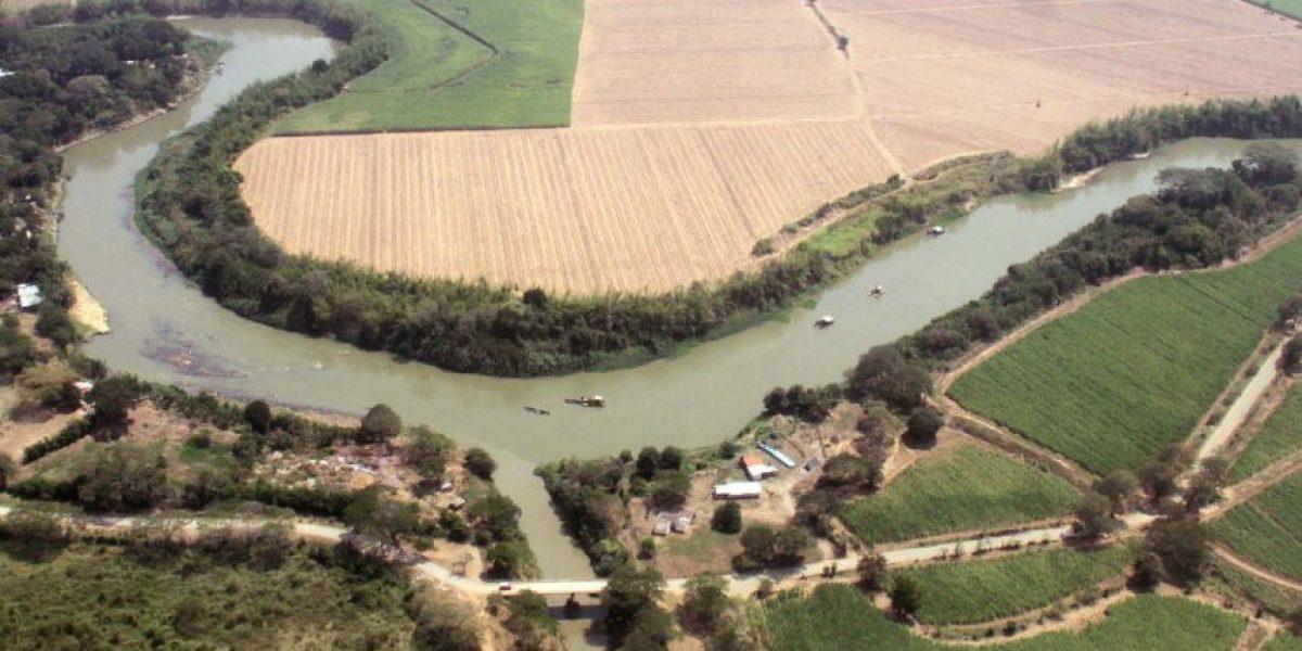 Las impactantes fotos aéreas que comprueban efectos de El Niño en los ríos de Cali