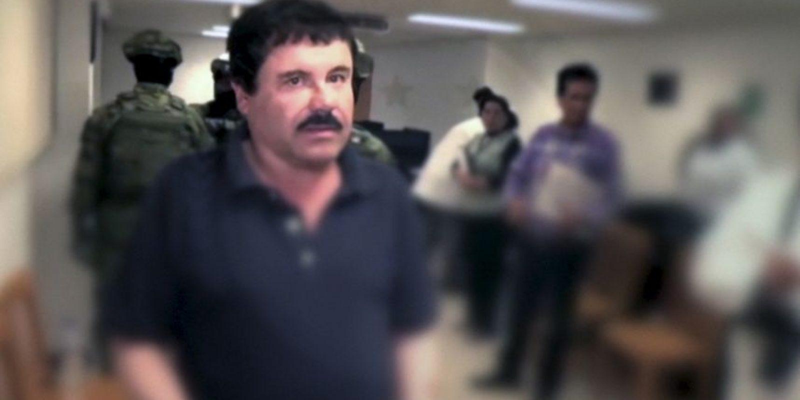 Esta semana se dieron a conocer nuevas imágenes de la detención del Chapo Guzmán Foto:AFP