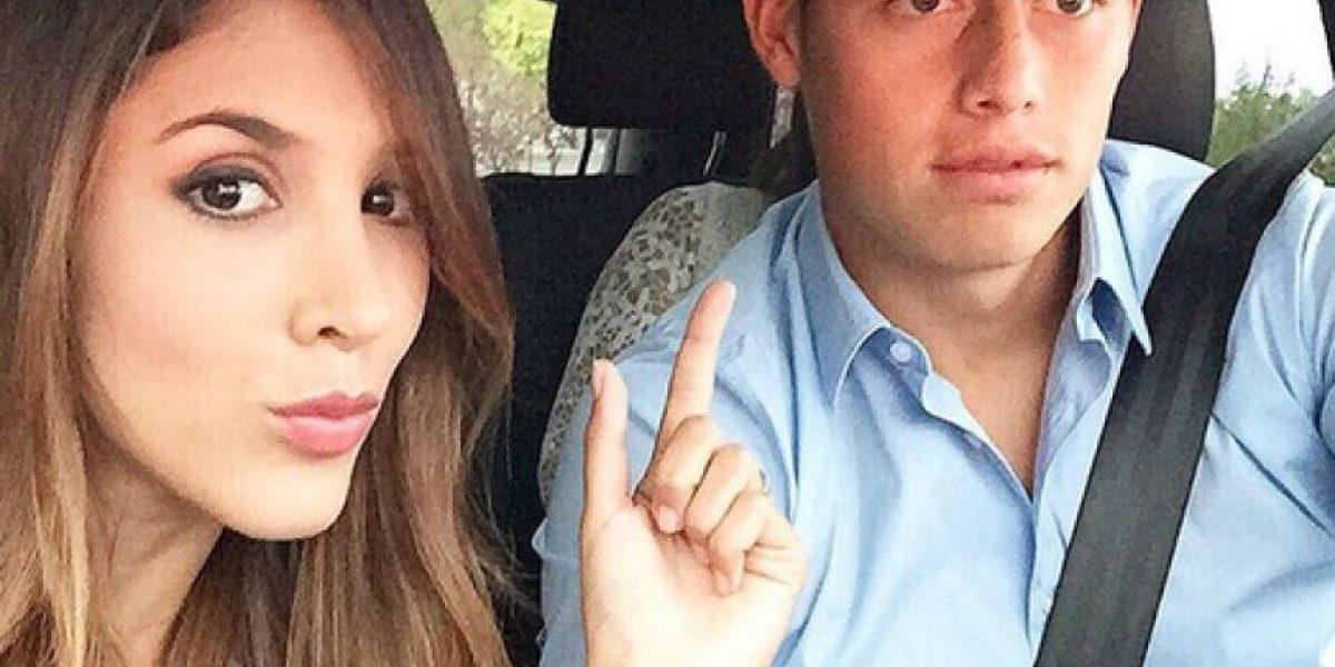 Daniela Ospina pidió permiso a RCN para visitar a James Rodríguez en España