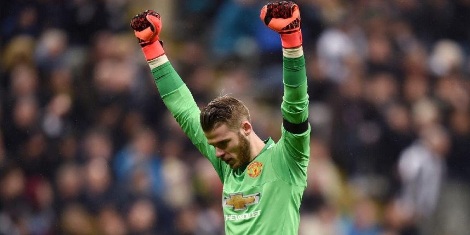 4. David de Gea (Manchester United/España) Foto:Getty Images