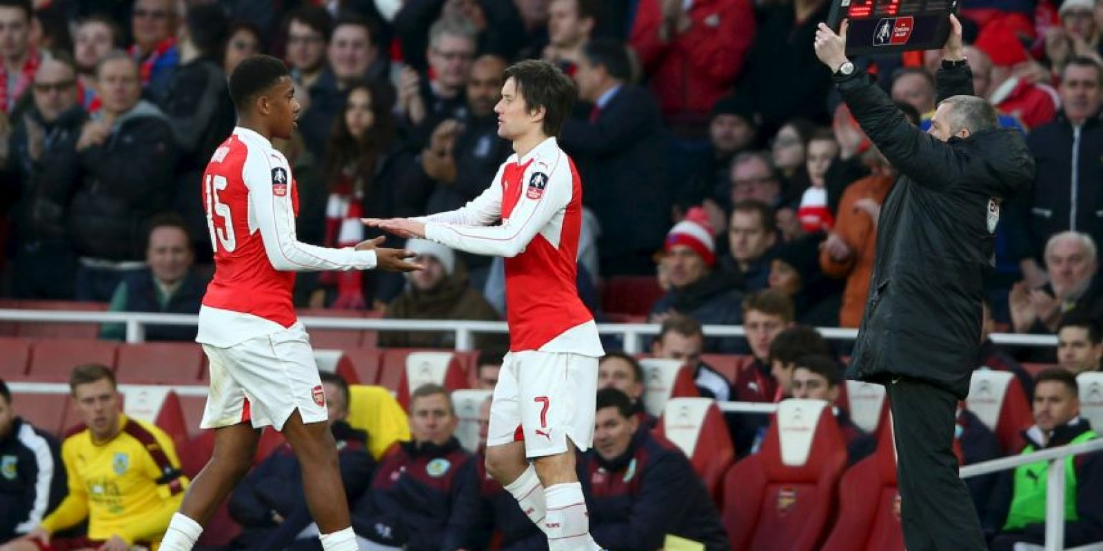 "Al final, los ""Gunners"" se impusieron 2-1 Foto: Getty Images"
