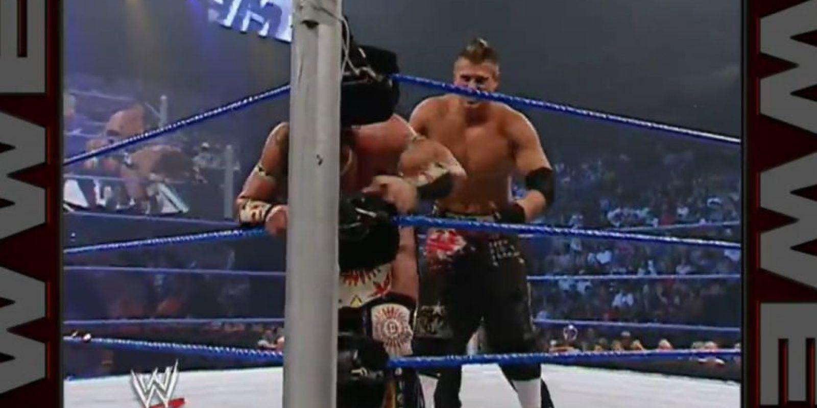 Peleó contra Tatanka, el 1 de septiembre de 2006 Foto:WWE
