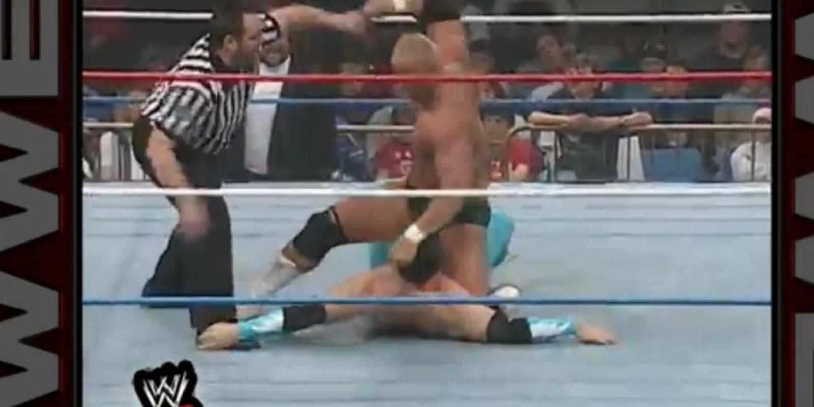 Se enfrento a Matt hardy, el 15 de enero de 1996 Foto:WWE