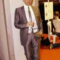 De familia aristocrática, Lagerfeld comenzó a trabajar en Balmain a los 22 años. Foto:vía Getty Images