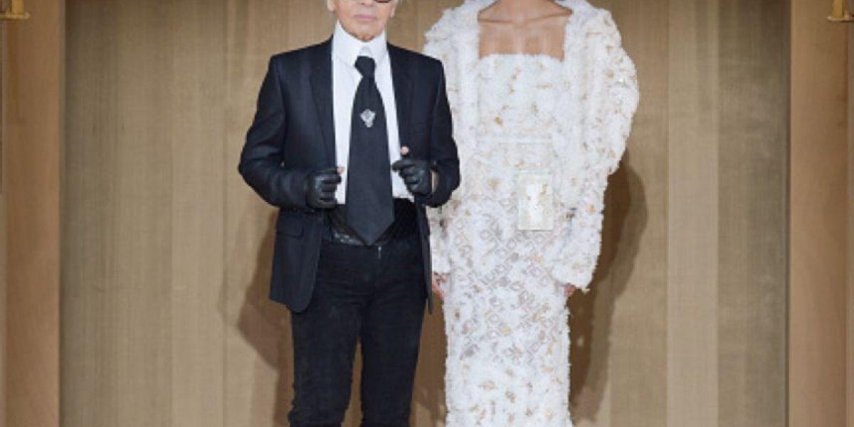 Fotos: Así se veía el diseñador Karl Lagerfeld cuando era joven