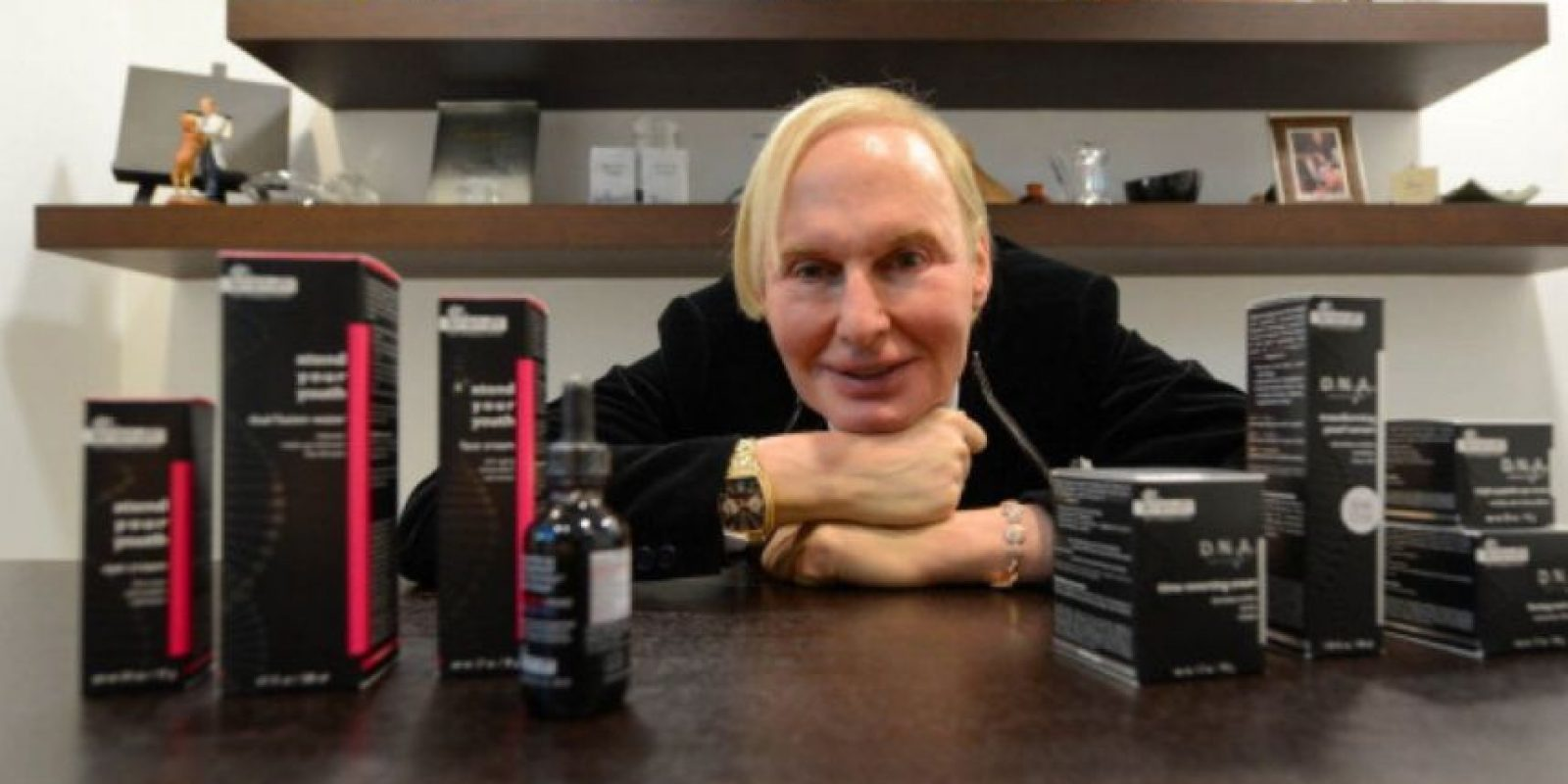 Una marca de cosmetología en crecimiento. También un programa de televisión. Foto:vía Getty Images