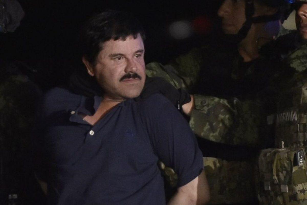 4. En cada traslado lo sigue un grupo de guardias con cámaras instaladas en su cascos, Foto:AFP