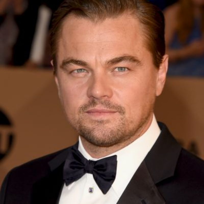 Leonardo DiCaprio — El renacido; como Hugh Glass. Foto: Getty Images