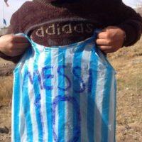 Él es el pequeño Murtaza Foto:AFP