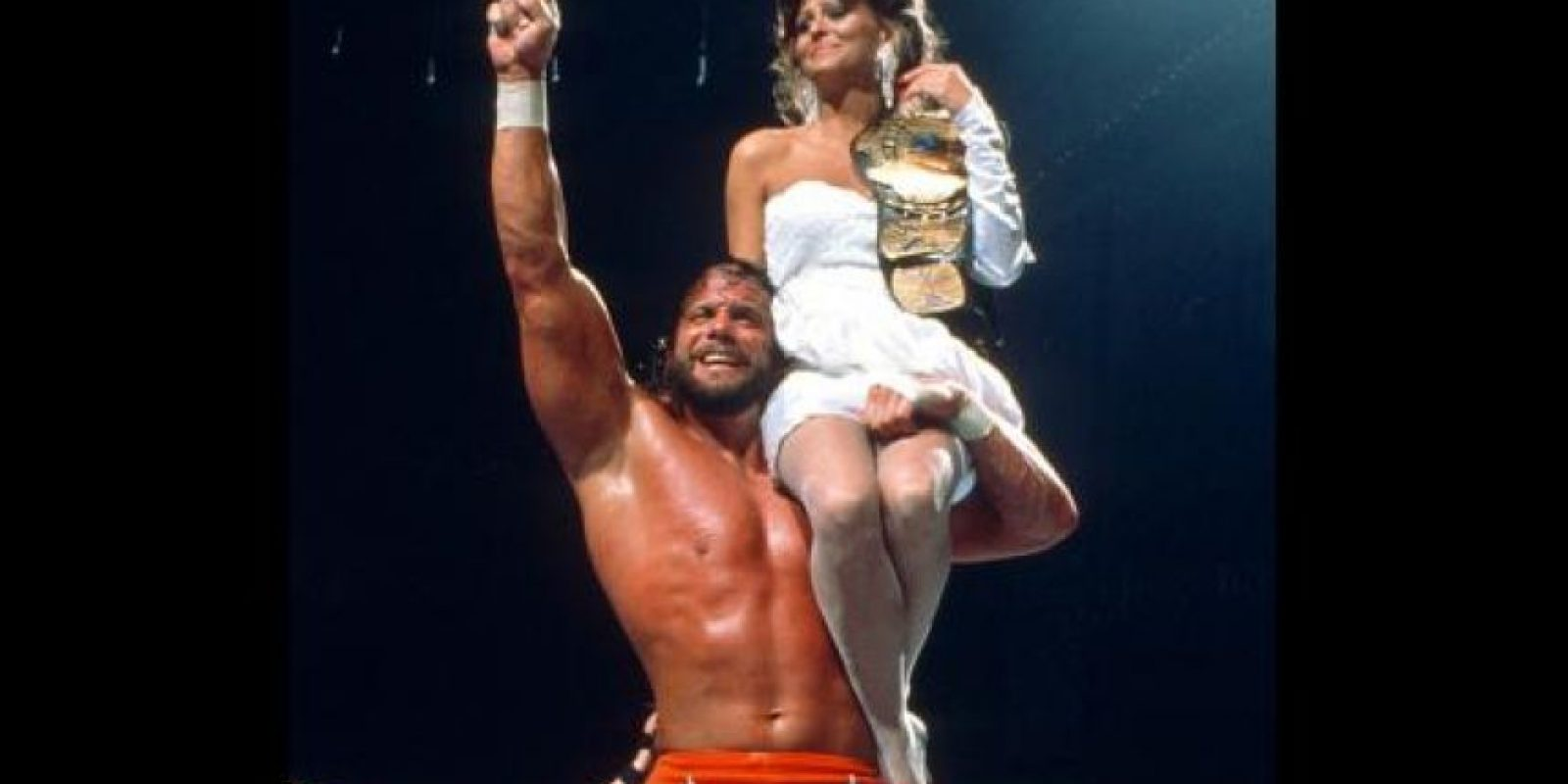 "18. Mandy ""Macho Man"" Savage y Miss Elizabeth Foto: WWE"