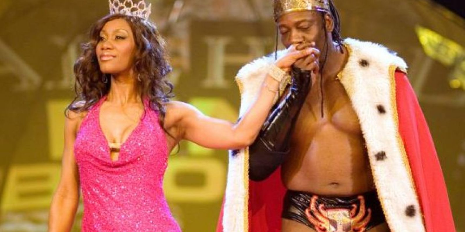 10. Sharmell y Booker T Foto: WWE