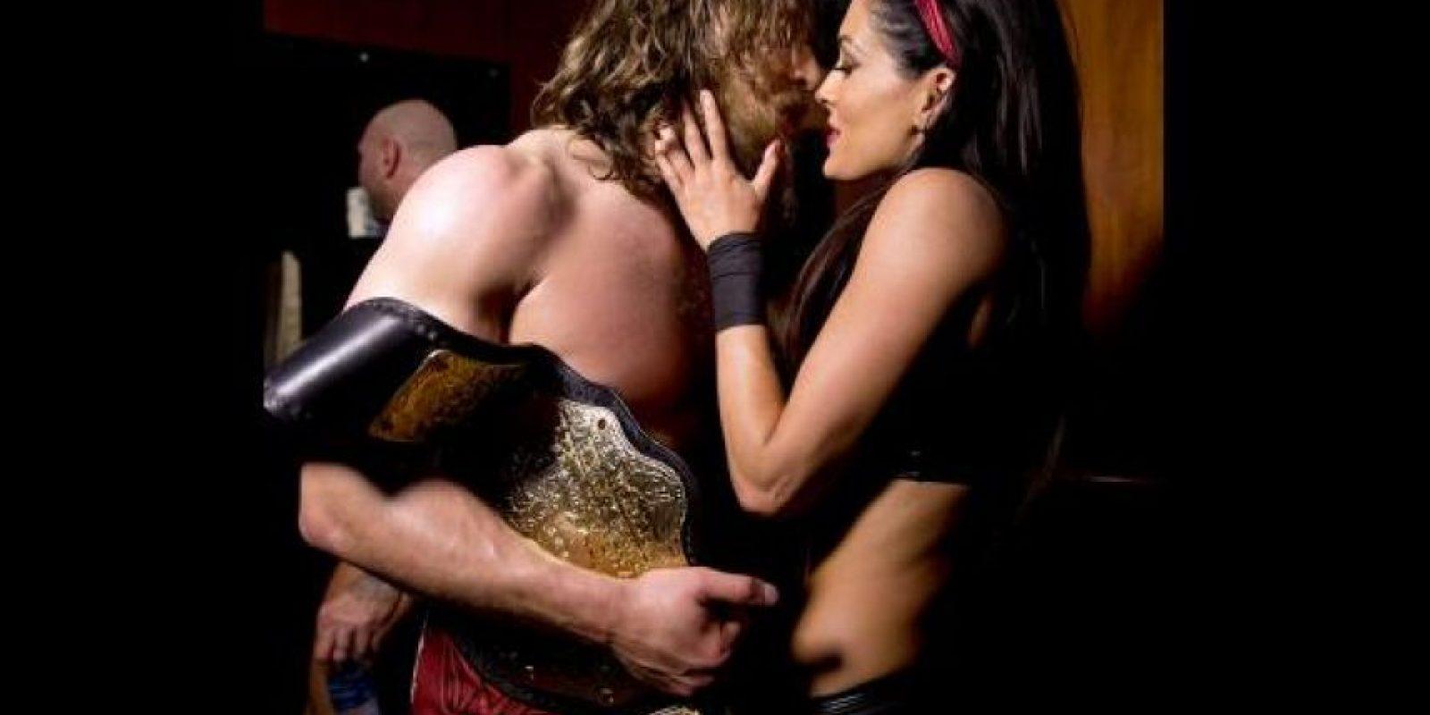 5. Daniel Bryan y Brie Bella Foto:WWE