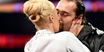 3. Lana y Rusev Foto:WWE