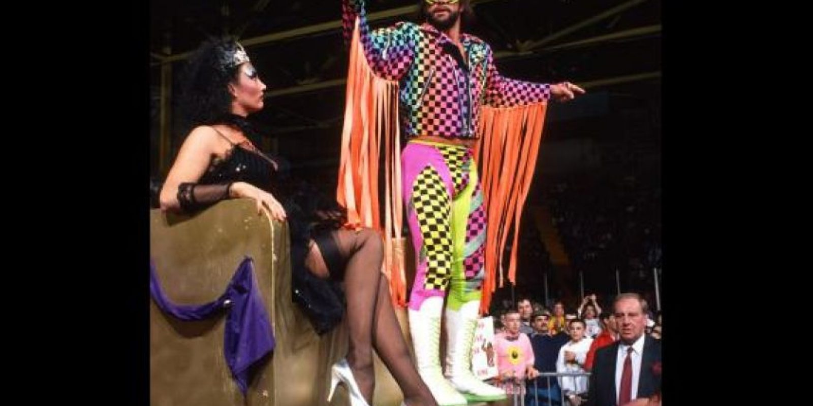 35. Sensational Sherri y Macho King Foto: WWE