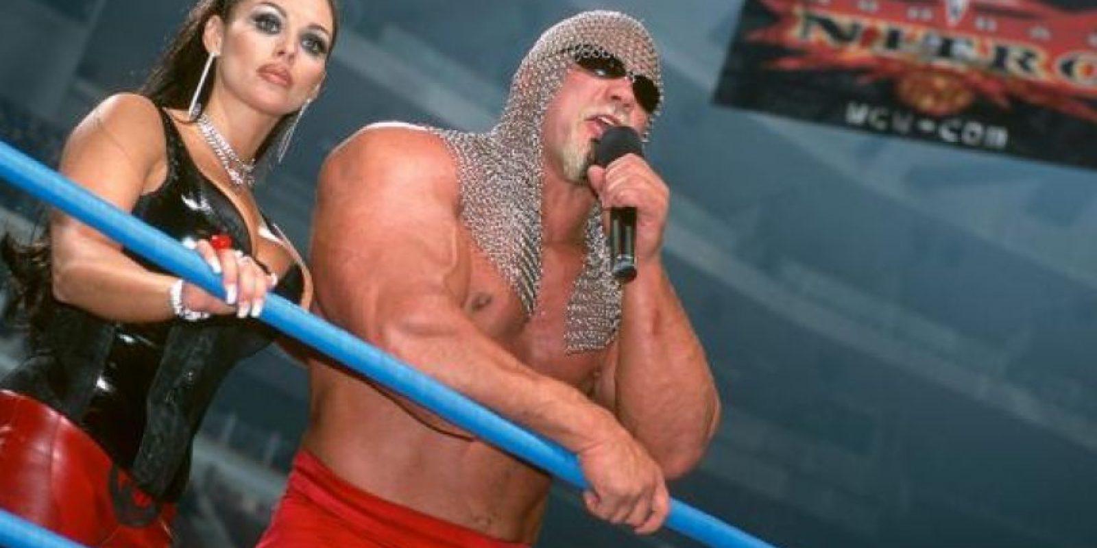 34. Midajah y Scott Steiner Foto:WWE