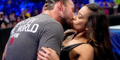 20. CM Punk y AJ Lee Foto:WWE