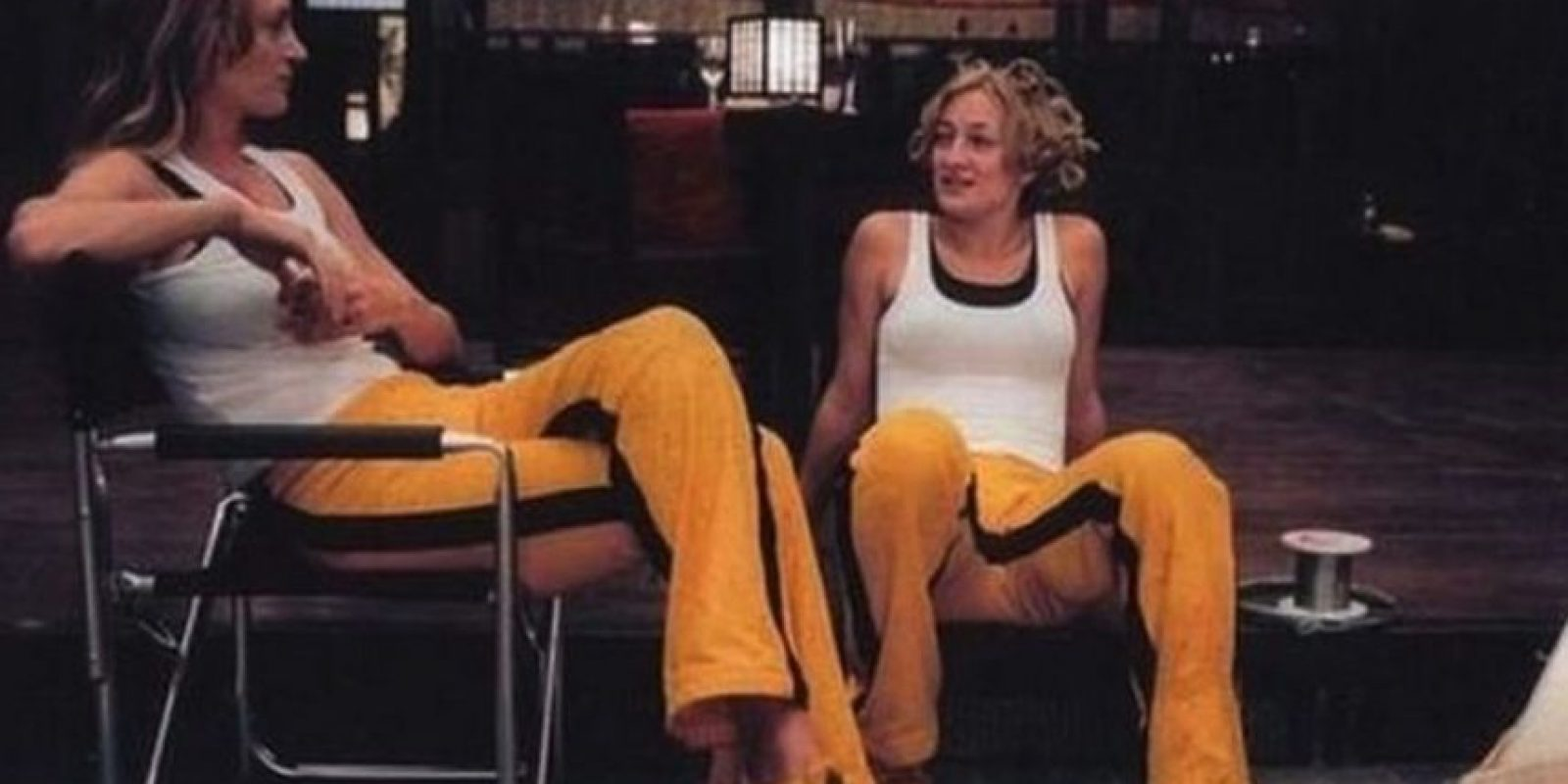 Uma Thurman y su doble Foto:Vía imdb.com