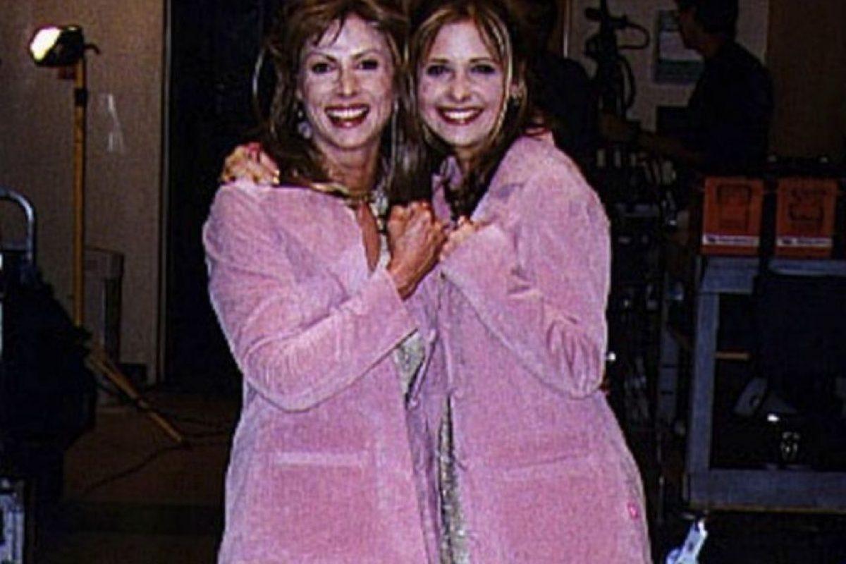 Sarah Michelle Gellar y Sophia Crawford Foto: Vía allusedup.tumblr.com