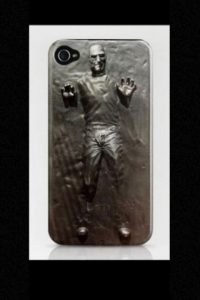 Y hasta fundas para iPhone con una mezcla entre Star Wars y Jobs. Foto: Vía Tumblr.com