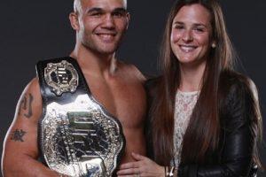 Robbie y Marcia Lawler Foto:UFC