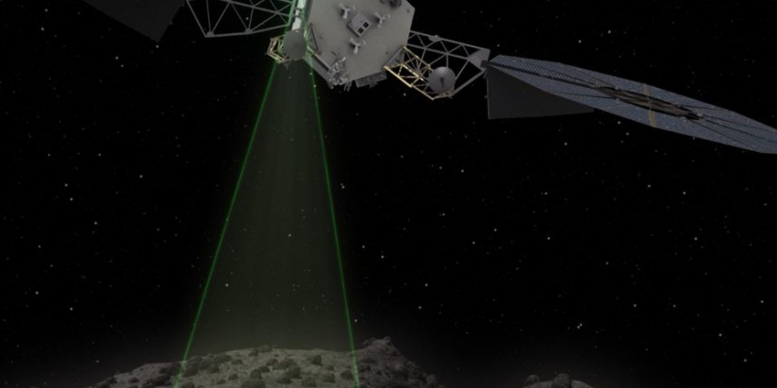"""Con la misión """"The Asteroid Redirect Mission"""", la NASA estudiará la posibilidad de modificar la órbita de un asteroide cercano. Foto:nasa.gov"""