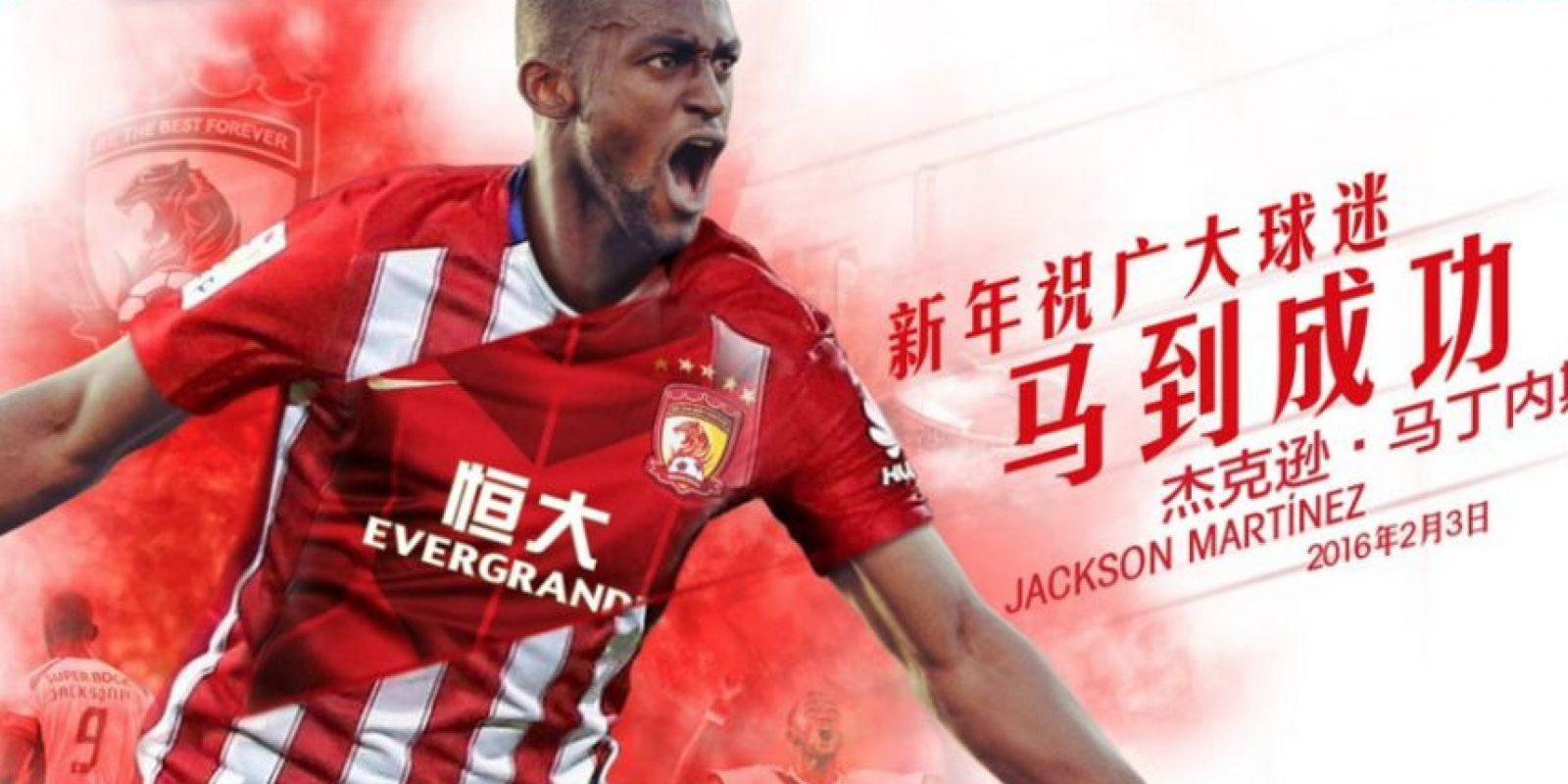 Foto:Tomado del Twitter oficial del Guangzhou Evergande