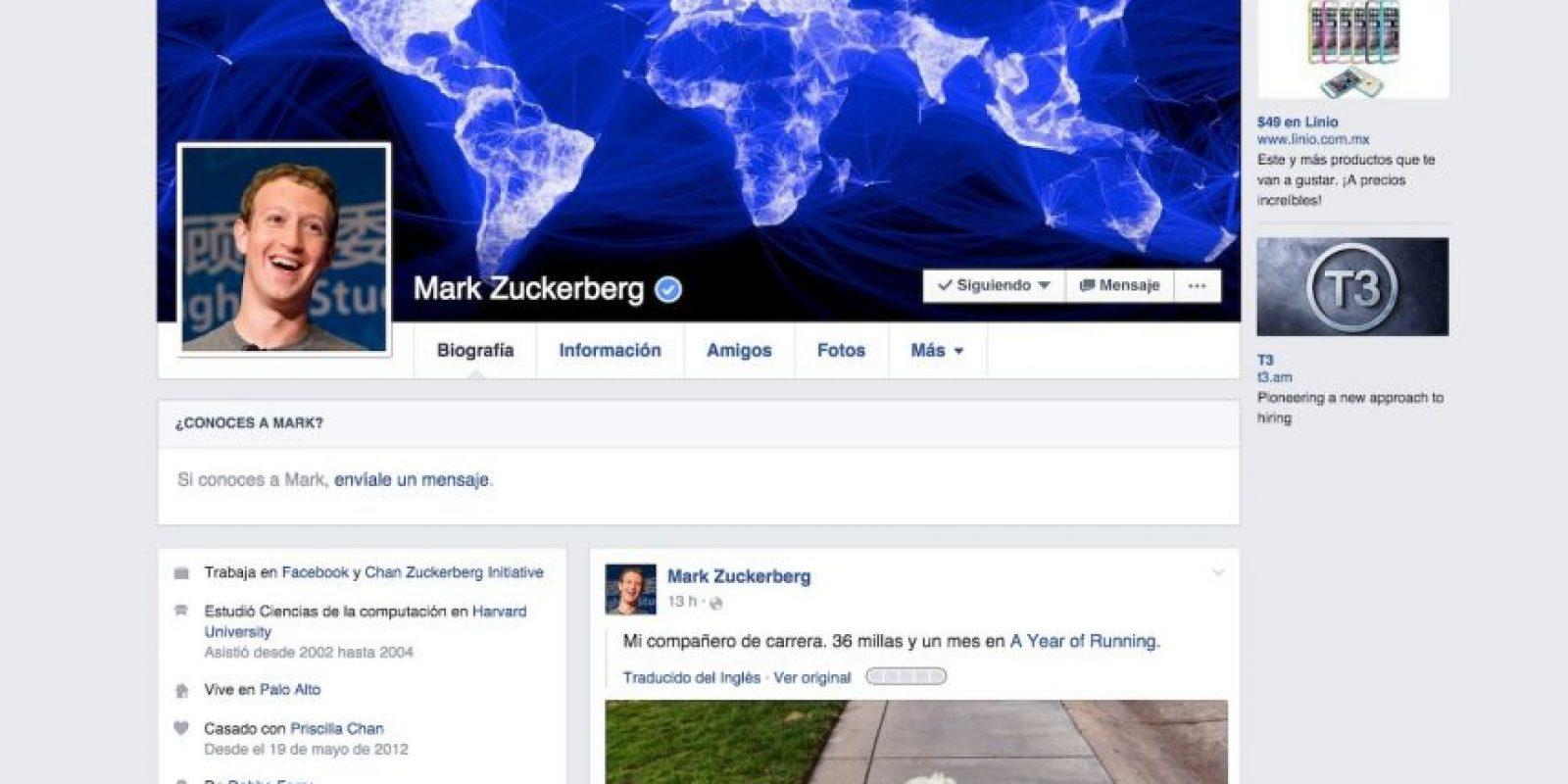 2016. Facebook les mostrará solamente las noticias que les importan. Foto:Vía Facebook