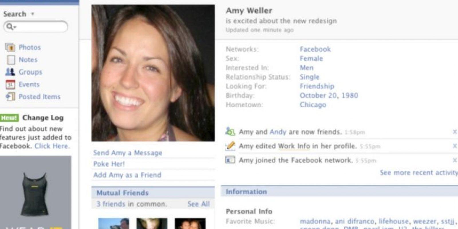 2007. Se le trataba al usuario en tercera persona. Foto:Vía Facebook