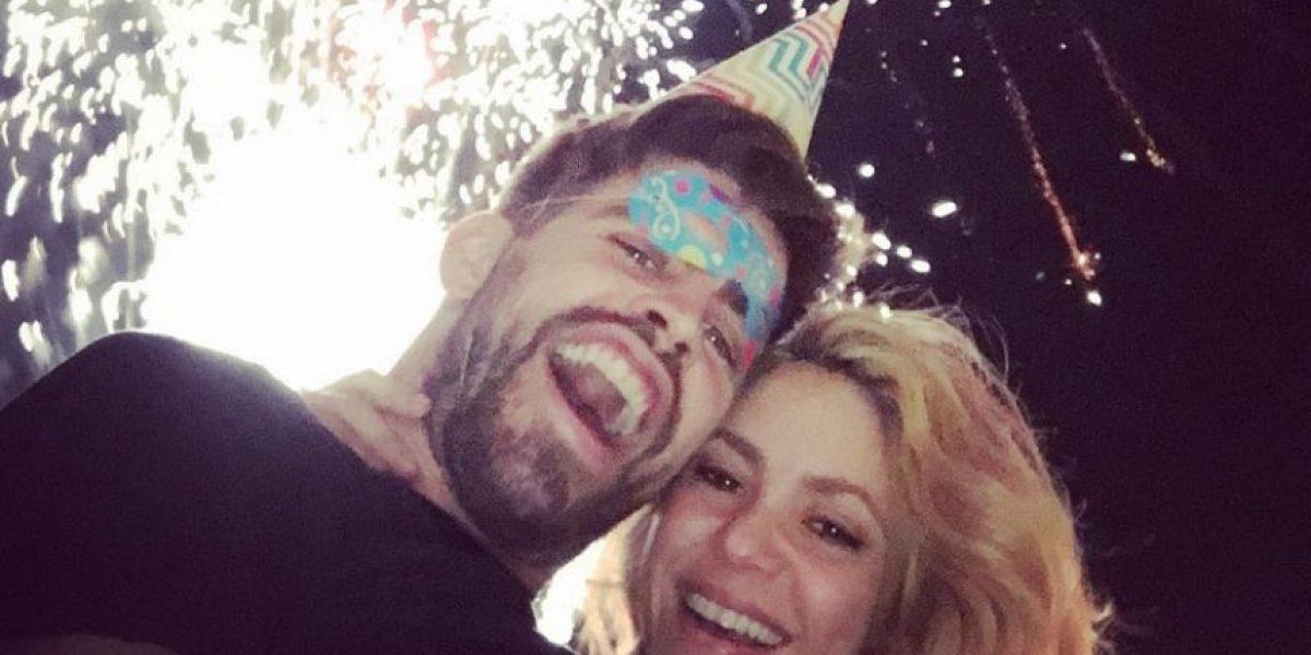 Piqué reveló cómo celebró el doble cumpleaños con Shakira