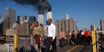 Dos impactaron contra el World Trade Center en Nueva York, causando su destrucción. Foto:Getty Images