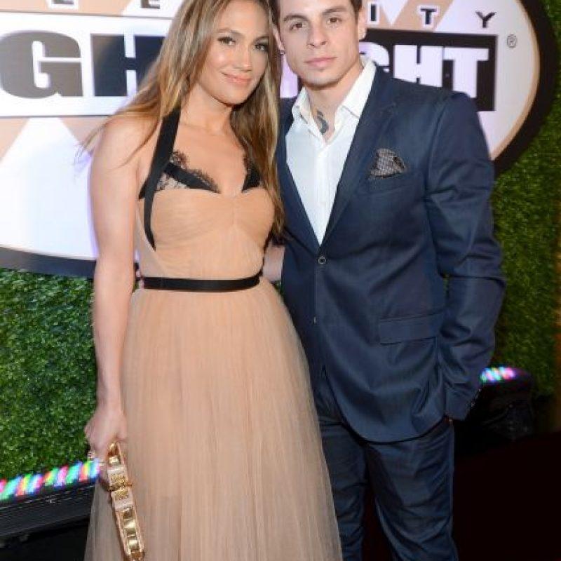 Casper es muy cercano a los hijos de Marc Anthony y Jennifer López. Foto:Getty Images