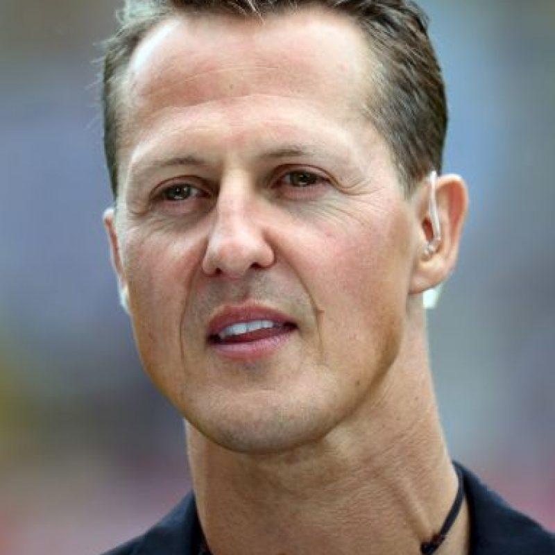 Schumacher tiene 47 años Foto:Getty Imags