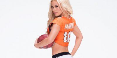 Y Lana a los Broncos de Denver. Foto:WWE