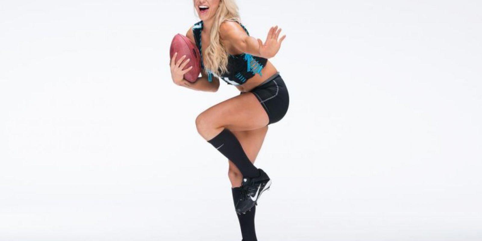 Su nombre real es Ashley Elizabeth Fliehr. Foto:WWE