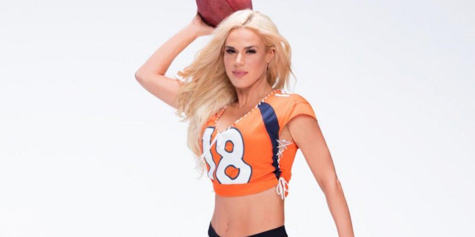 Su nombre real es Catherine Joy Perry. Foto:WWE