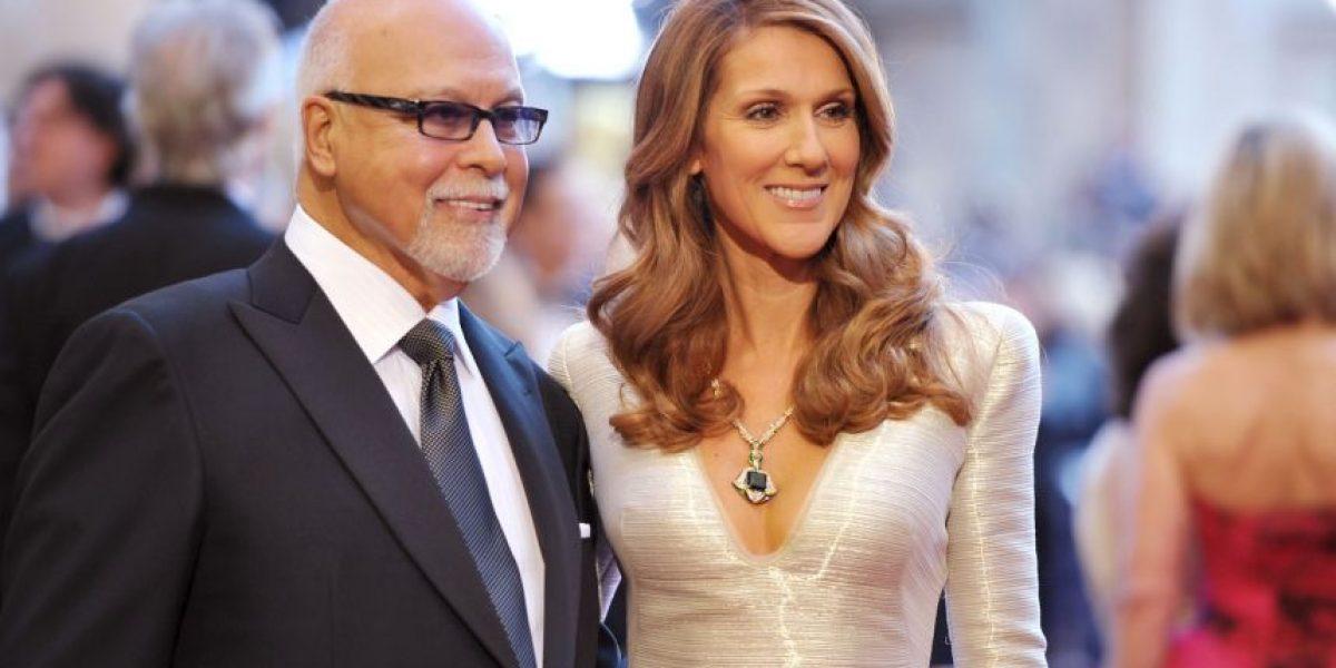 Celine Dion no aguantó más y rompió en llanto en el tributo a su esposo