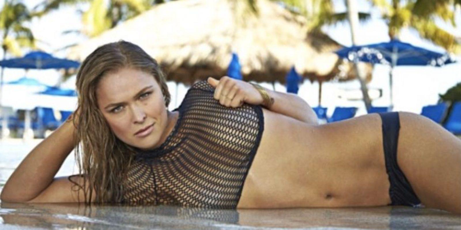 5. Ronda Rousey Foto:Vía instagram.com/rondarousey