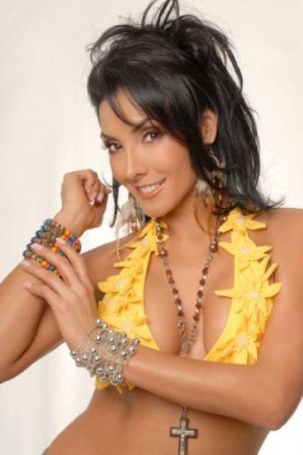 Liliana Lozano era una de las tantas reinas de belleza colombianas que hizo la transición a la televisión. Foto:vía Colprensa